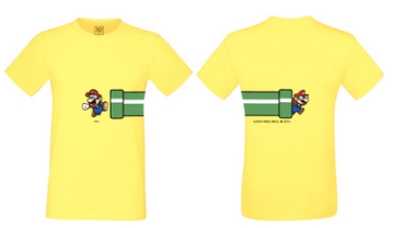 T shirt amiibo super mario maker wii u