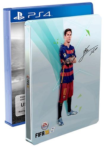 FIFA 16 steelbook PS4