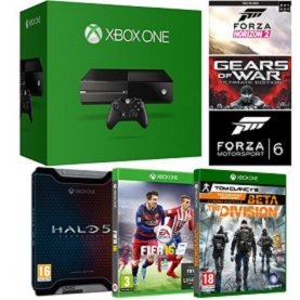 bon plan console xbox one + 6 jeux pas cher
