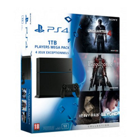 bon-plan-mega-pack-ps4-1-To-uncharted-4-a-thief-s-end-bloodborne-heavy-rain-and-beyon-collection-pas-cher